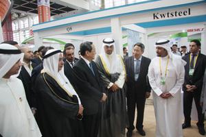 全国政协主席俞正声、科威特商工大臣