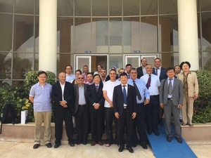 Chinese business delegation visit Morocco
