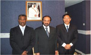 集团合伙人与卡塔尔驻华大使